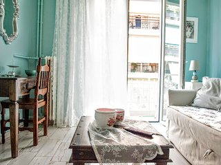 A romantic-vintage apartment in Athens