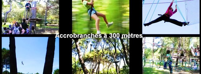 Accrobranches  300 m.