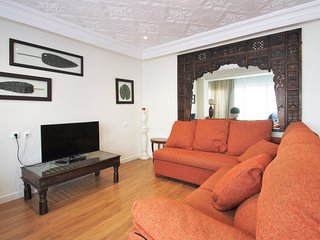 Apartamento de estilo étnico en el centro de Alicante con 3 habitaciones