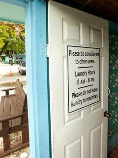 Laundry entrance