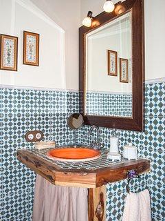 Cuarto de baño. Habitación 1.