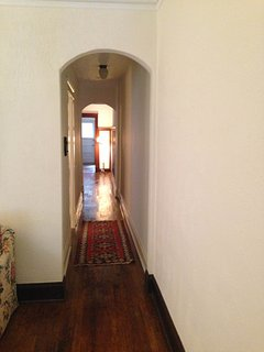 hallway to dining room