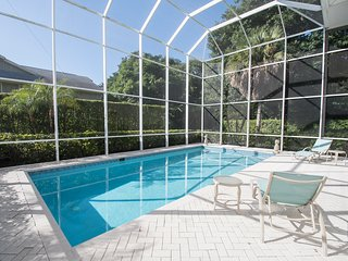 Beautiful, Spacious and Private Heated Pool.  Walking Distance to Beach!