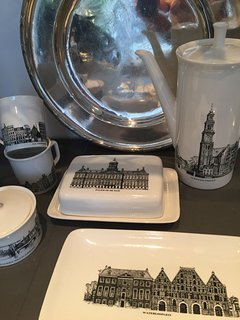 Ceramics with canals from Amsterdam.