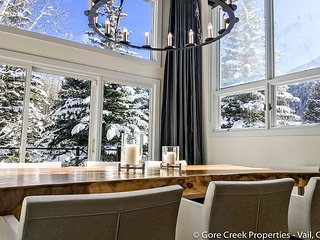 Beautifully remodeled 3 bedroom plus loft duplex home in E Vail 2425 Bald Mt