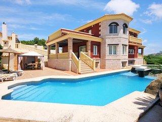 4 bedroom Villa in Calpe, Valencia, Spain : ref 5505936