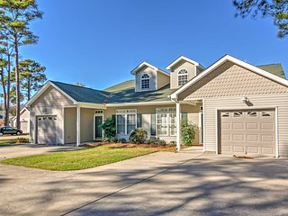 Breezy 3BR Cape Charles Townhome Near Beaches!