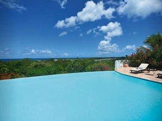7 Bedroom Villa with Infinity Pool overlooking Long Beach, St. Maarten