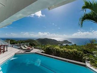 Private 2 Bedroom with Ocean View in Vitet, St. Barthelemy