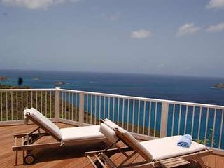 Exceptional 2 Bedroom Villa with Panoramic Ocean View in Colombier, Anse des Flamands