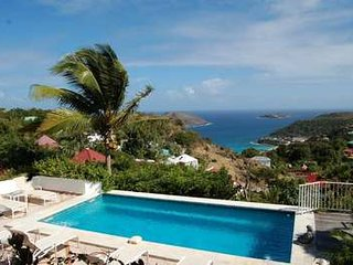 4 Bedroom Villa with View of Flamands Bay in Colombier, Anse des Flamands