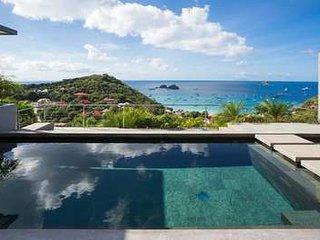 Marvelous 3 Bedroom Villa on the hillside of Colombier, Anse des Flamands