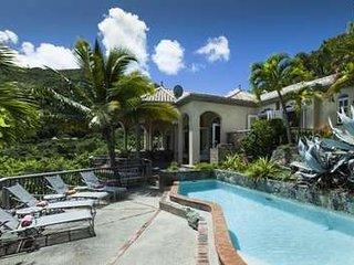 Glorious 4 Bedroom Waterfront Villa in Peter Bay, St. John