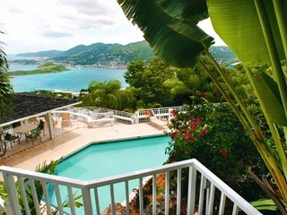 Delightful 5 Bedroom Villa with Private Pool on St. Thomas