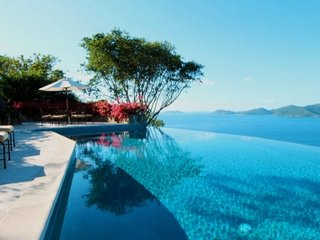 Spectacular 5 Bedroom House with Infinity Edge Pool on Tortola