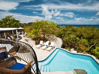 Distinguished 4 Bedroom Villa with View on Virgin Gorda, Spanish Town