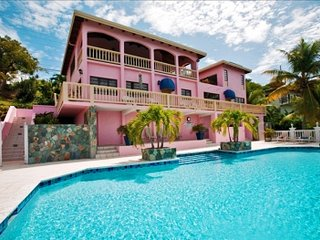 4 Bedroom Villa with Private Pool and View on St. Thomas, Benner