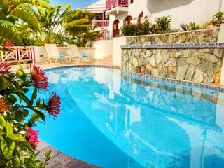 Majestic 5 Bedroom Villa with Private Terrace in the West End, Tortola