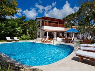 4 Bedroom Beachfront Villa in the Tropical Gardens of St. James