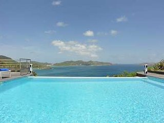 2 Bedroom Villa with Panoramic View of the Ocean in Pointe Milou