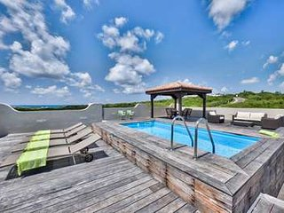 Contemporary 2 Bedroom Villa in Cupecoy, St. Maarten-St. Martin