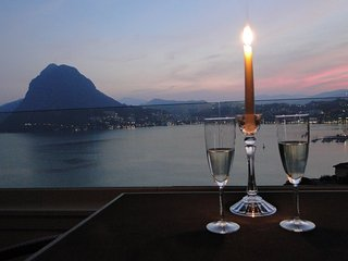 Breathtaking View for a Romantic Stay, Lugano