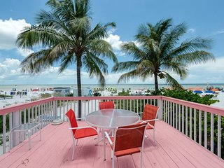 Margarita Cottage, our Key West style Beachfront North End Cottage now with Sun