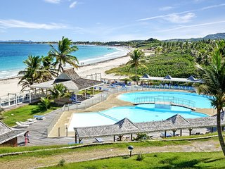 Two bedrooms apartment offers amazing views of Orient Beach, Saint-Martin