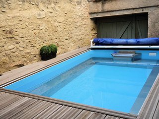 Holiday home in France pool