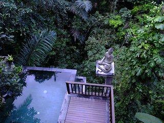 Harum Sari 2BR private infinity pool, Petulu