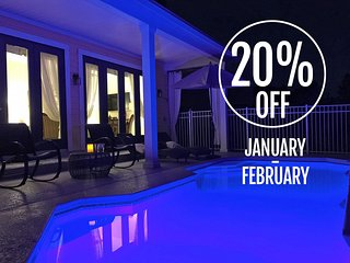 20% OFF JAN-FEB!! - REUNION RESORT AWARD WINNING VILLA - Views, Space, Luxury, Reunion