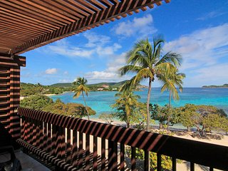 Grand Opening Beachfront 2-story Penthouse at Sapphire Beach St. Thomas USVI, Red Hook