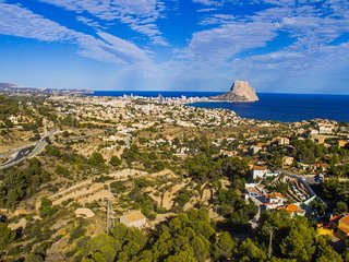 Costa Blanca. Villa. Panoramic View. Private Pool., Calpe