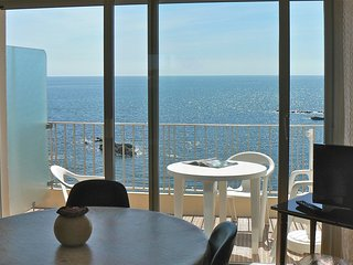 Lumineux appartement bien equipe en face de l'ocean