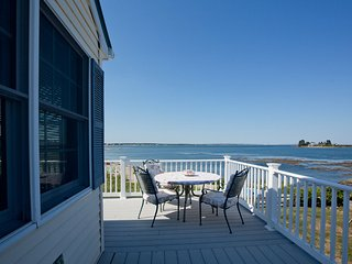 Panoramic Views Embrace Beachfront Home, Biddeford