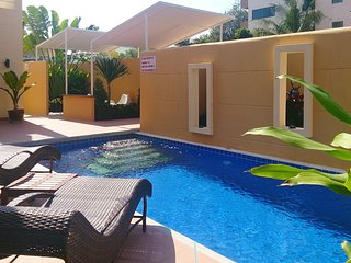 Big pool villa close to beach and city center
