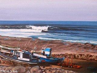 El Quemao, La Santa frente al mar
