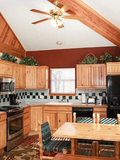 Fully equipped kitchen to prepare all your meals with your family and friends