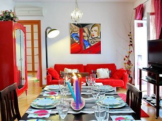 La Maison apartment in Vaticano with WiFi, air conditioning, balcony & lift.