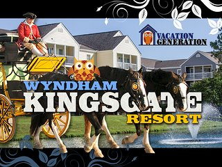Wyndham Kingsgate Resort ツ 2BR/2BA Equipped Condo!