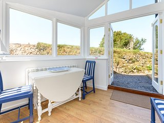 New garden room with views to Gooninnis Engine House