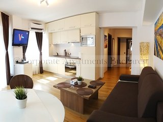 Executive 2BD Apartment - University - Old Town, Bucharest