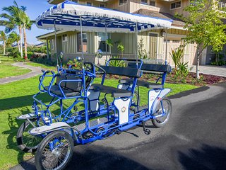 ★ Paradise Found Villa ★ Bikes / Beach ★ Private Beach Club Pass ★  Near Pools, Waikoloa