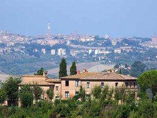 Appartamento Trilocale A con piscina vicino Siena, Isola d'Arbia