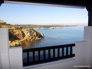 Face à la mer, apt de standing 4p,piscine commune