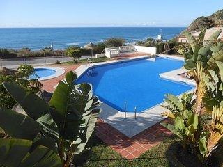 53 Torrox beach club apartmrent overlooking the ocean