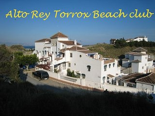 Alta Rey Torrox Beach Club Apartment with terrace overlooking the sea