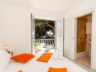 Guest House Daniela - Comfort Double Room with Sea View (First Floor), Mlini