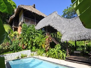 Luxueuse villa traditionnelle a Nosy-Be Madagascar