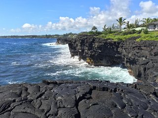 Oceanfront Paradise - Whales, Turtles, Nenes. Close to Volcano/Lava/Snorkeling